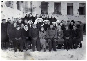 Mažeikių ligoninė 1945m.